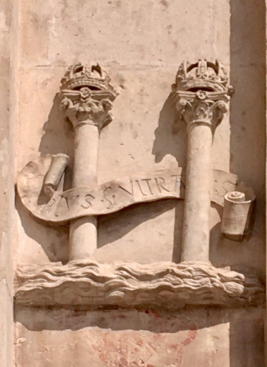 Die Säulen des Herkules mit Plus Ultra, Rathaus von Sevilla