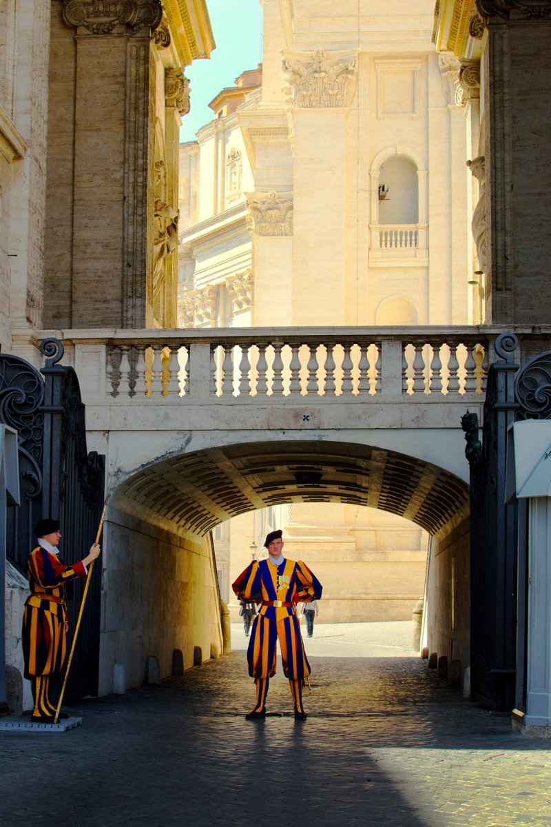 swiss guard in the Vatican state
