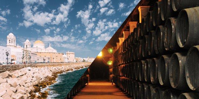 Jerez de la Frontera und Cadiz