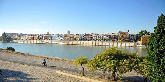 Sevilla auf dem Fahrrad
