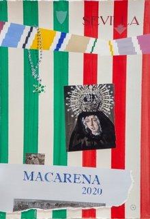 Plakat der Bruderschaft de la Macarena 2020