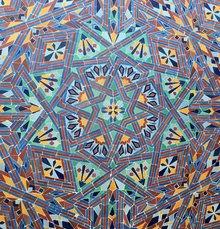 Mosaikfliesen am Marokkanischen Pavillon Expo92