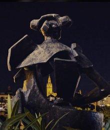 Statue Juan Belmontes in Triana