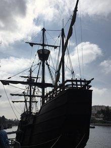 New replica of the Nao Victoria
