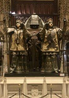 Kolumbus Grabmal in der Kathedrale von Sevilla